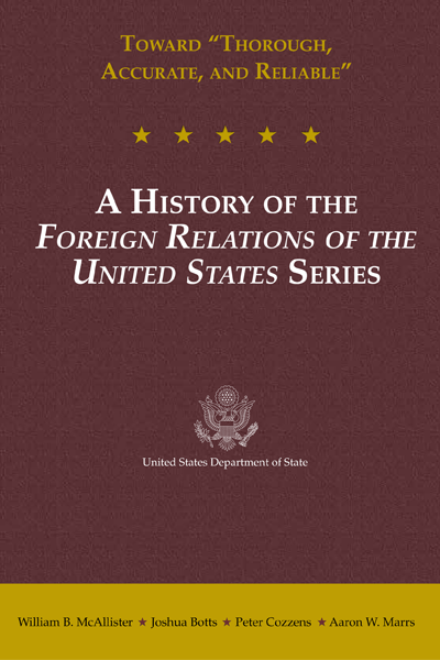A History of the Foreign Relations of the United States Series E-Book