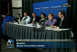 Still image of AHA CSPAN Event