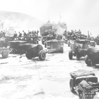 The 25th Infantry Division prepares to go to Korean War from Japan