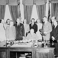 Signing of the NATO Treaty