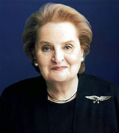 Madeleine Korbel Albright, 64th Secretary of State